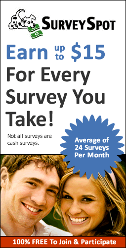 Get Paid Taking Surveys w/ Survey Spot