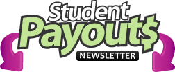 Student Payouts Newsletter Signup