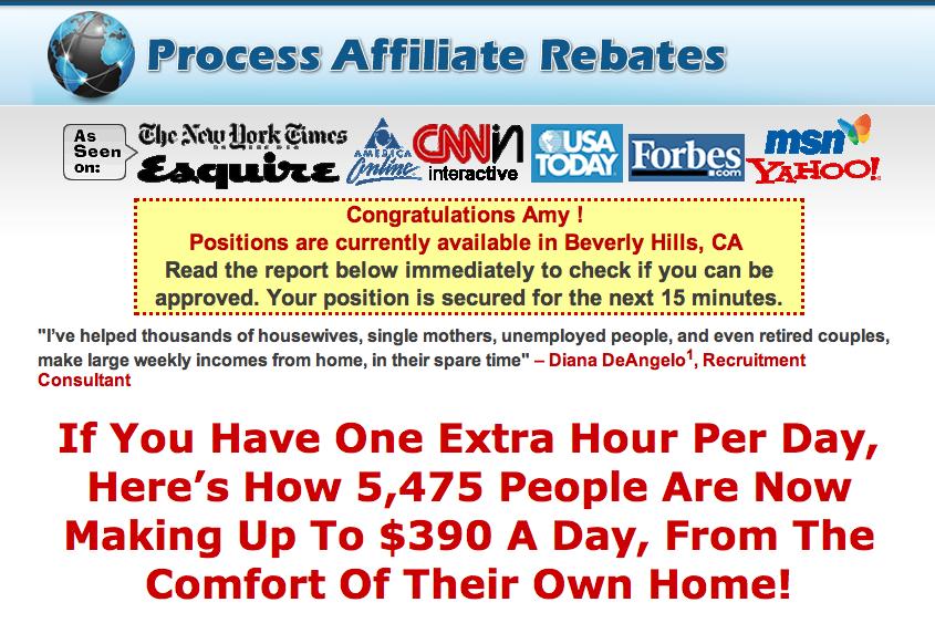 ProcessAffiliateRebates.com